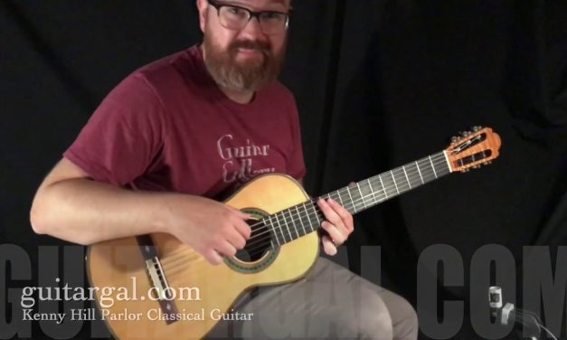 Kenny Hill Parlor Classical Guitar at Guitar Gallery