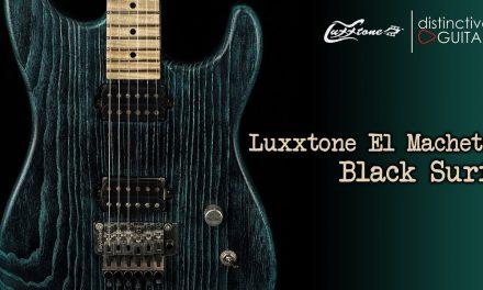 Luxxtone El Machete | Black over Surf Green