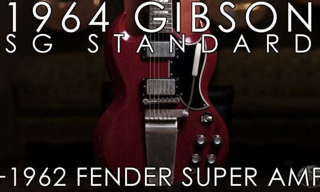 """""""Pick of the Day"""" – 1964 Gibson SG and 1962 Fender Super Amp"""