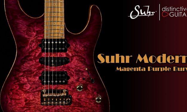 Suhr Modern Custom | Magenta Purple Burst