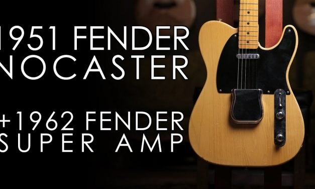 """""""Pick of the Day"""" – 1951 Fender Nocaster and 1962 Fender Super Amp"""