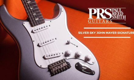 PRS Silver Sky John Mayer Signature At The Music Zoo!
