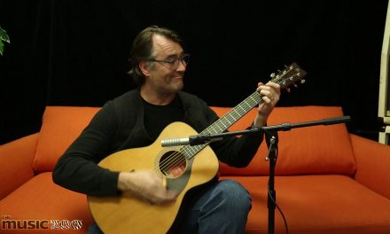 Yamaha Red Label FS5 Concert Acoustic Guitar Demo with Carl Tosten at The Music Zoo!