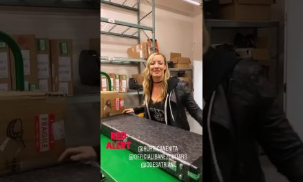 Nita Strauss Warehouse Alerts the Ibanez Joe Satriani JS1CR at The Music Zoo!