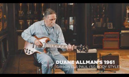 Jack Pearson plays Duane Allman's SG ( Vault Sessions S2:E32)