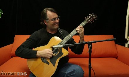 Yamaha AC5R Acoustic Guitar Demo with Carl Tosten at The Music Zoo!