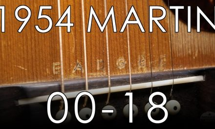 "1954 Martin 00-18- ""Pick of the Day"""
