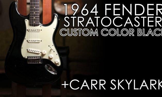 """""""Pick of the Day"""" – 1964 Fender Strat Black and Carr Skylark"""