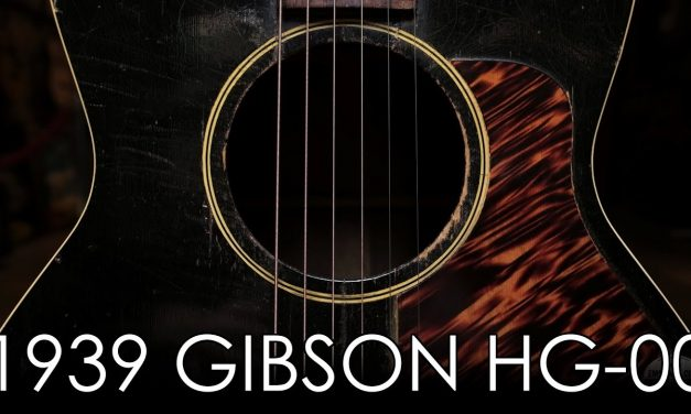 """Pick of the Day"" – 1939 Gibson HG-00"