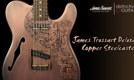 James Trussart Deluxe Steelcaster | Antique Copper w/ Paisley Pickguard