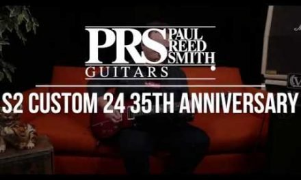 A First Look at the PRS S2 Custom 24 35th Anniversary Guitar!