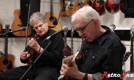 Bill Kirchen & Andy Stein at Retrofret // Santa! Don't Pass Me By
