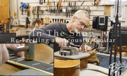 In The Shop: Re-fretting an Acoustic Guitar