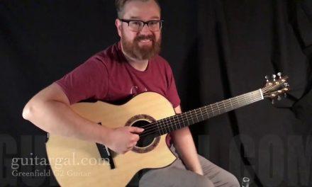 Greenfield G2 cutaway Guitar at Guitar Gallery