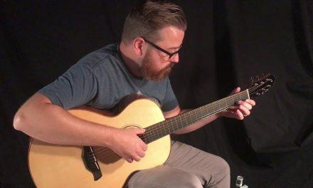 Galloup Hybrid Mahogany Guitar at Guitar Gallery