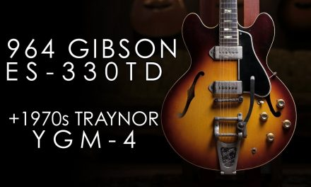 """Pick of the Day"" – 1964 Gibson ES-330TD and 1970s Traynor YGM-4"