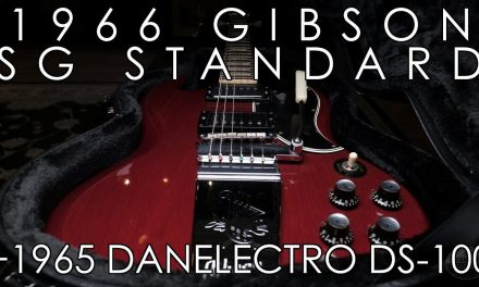 """Pick of the Day"" – 1966 Gibson SG Standard and 1965 Danelectro DS-100"
