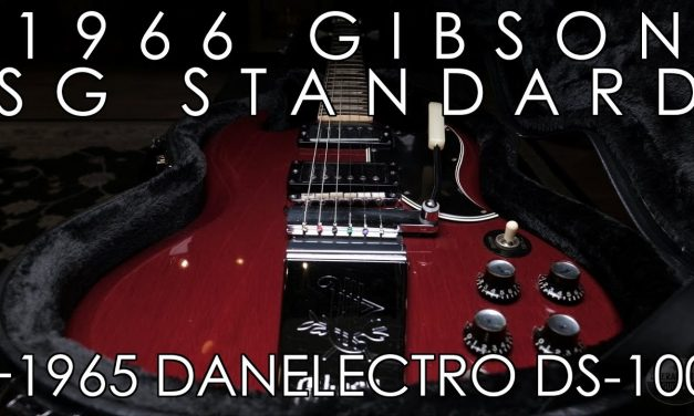 """""""Pick of the Day"""" – 1966 Gibson SG Standard and 1965 Danelectro DS-100"""