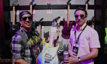 NAMM 2020: Kramer USA Handpainted Guitars!