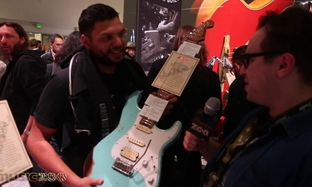 NAMM 2020: Misha Mansoor Interview With His Jackson Custom Shop So-Cal HSS Relic!