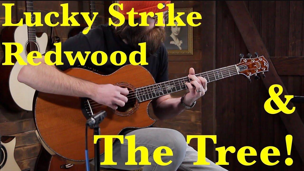 Ryan Signature Series Nightingale – Lucky Strike Redwood & The Tree Mahogany #986