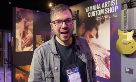 NAMM 2020: Yamaha Custom Shop Guitars with Pat Campolattano (Yamaha Artist Services Senior Luthier)