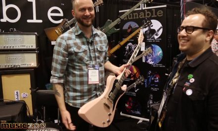 NAMM 2020: Dunable Guitars Show Pieces Available For Sale At The Music Zoo!