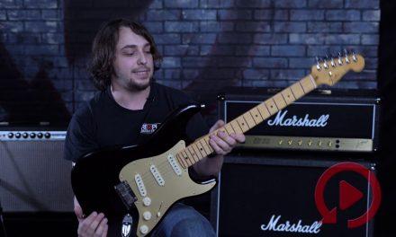 Fender Ultra Stratocaster Texas Tea