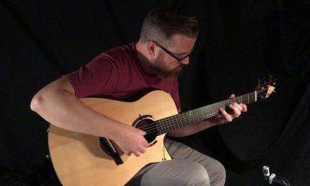 Kraut Macassar Ebony Fan Fret Guitar at Guitar Gallery