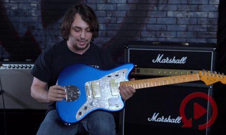Fender Jazzmaster Ultra Cobra Blue