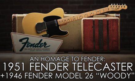 An Homage to Fender – GEORGE FULLERTON'S 1951 TELECASTER & LEO FENDER'S BENCH AMP