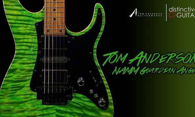 Tom Anderson Guardian Angel   Gamma Green NAMM Guitar