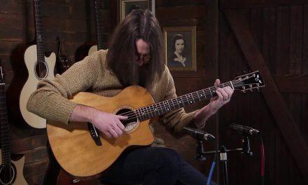 Goodall Fiddleback Mahogany Grand Concert Cutaway – Master Grade Torrefied Sitka Spruce #6778