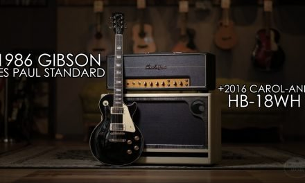 """""""Pick of the Day"""" – 1986 Gibson Les Paul Standard and 2016 Carol-Ann HB-18WH"""