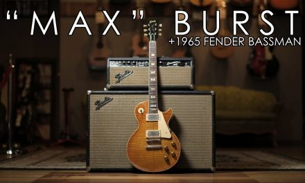 """Pick of the Day"" – Max Burst and 1965 Fender Bassman"