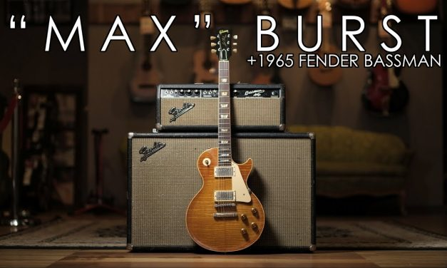 """""""Pick of the Day"""" – Max Burst and 1965 Fender Bassman"""