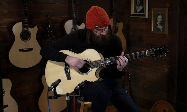 Ryan Nightingale Grand Soloist – Italian Spruce & Flamed Maple #920