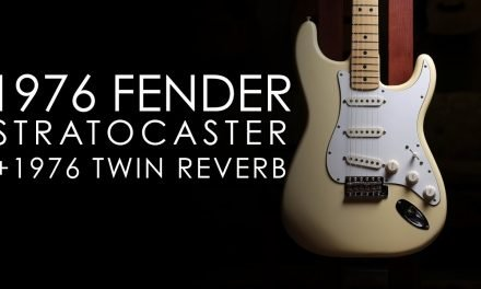 """Pick of the Day"" – 1976 Fender Stratocaster and Twin Reverb"