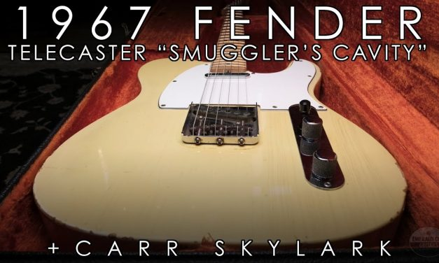 """Pick of the Day"" – 1967 Fender Telecaster ""Smuggler's Cavity"" and Carr Skylark"