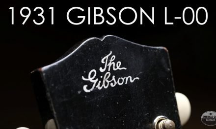 """""""Pick of the Day"""" – 1931 Gibson L-00"""