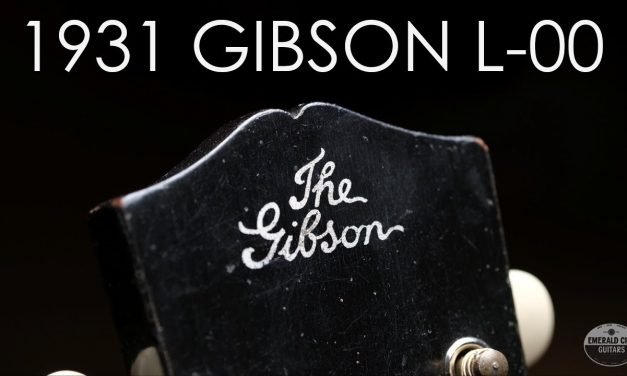 """Pick of the Day"" – 1931 Gibson L-00"