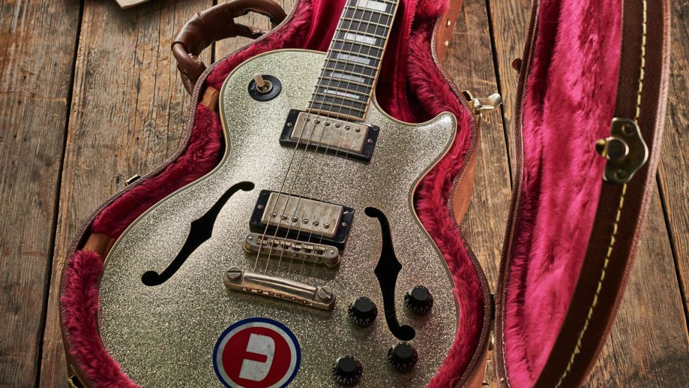 The storied history of Noel Gallagher's Les Paul Florentine