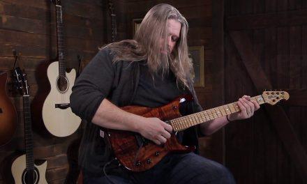 Ernie Ball Music Man Eddie's Guitars Exclusive JP15 Koa & Roasted Maple