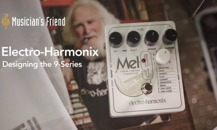 Designing the Electro-Harmonix 9-Series Pedals