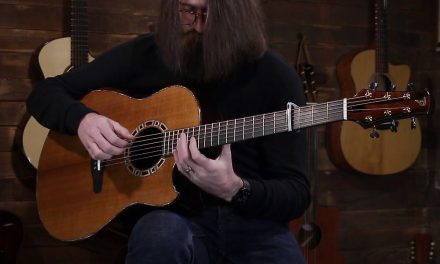 Tom Doerr Modified Dread – Torrefied Sitka & African Blackwood #1910147