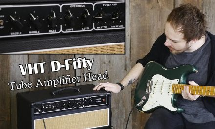 Checking out the new VHT D-Fifty Tube Amplifier Head @ Elderly.com