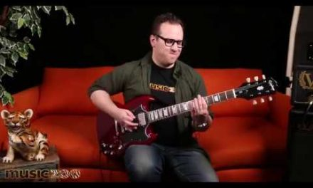Epiphone 'Inspired by Gibson' SG Standard Demo – You Can't Beat This Value!