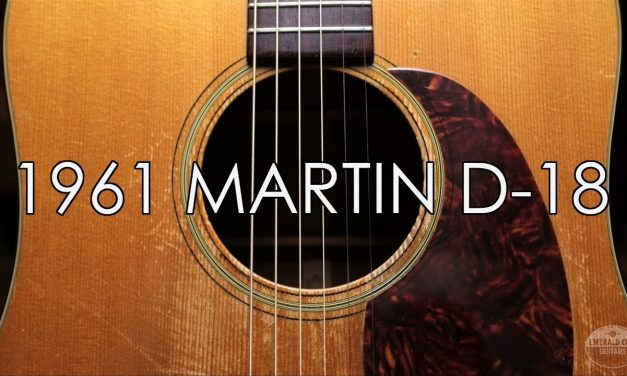 """""""Pick of the Day"""" – 1961 Martin D-18"""