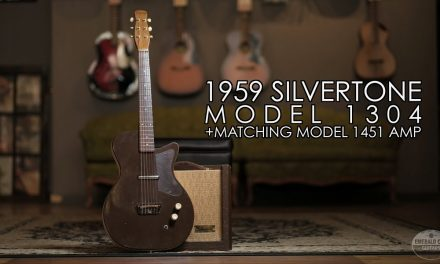 """Pick of the Day"" – 1959 Silvertone Model 1304 and matching Model 1451 Amp"