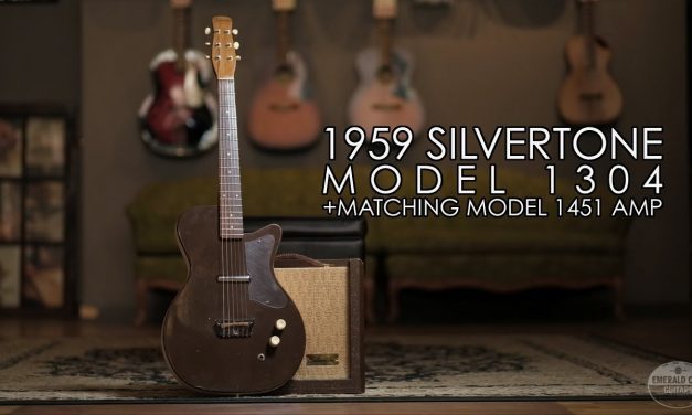 """""""Pick of the Day"""" – 1959 Silvertone Model 1304 and matching Model 1451 Amp"""